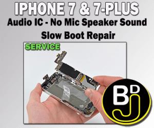 audio ic repair service