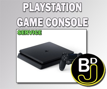 PLAYSTATION CONSOLE – REPAIR SERVICE